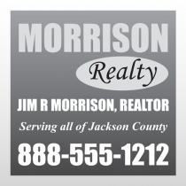 Realtor 297 Window Lettering