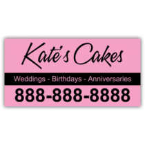 Kate's Cakes Magnetic Sign - Magnetic Sign