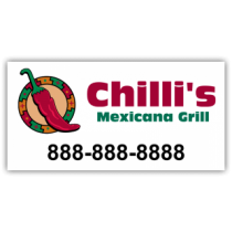 Chilli's Mexincana Grill Magnetic Sign - Magnetic Sign