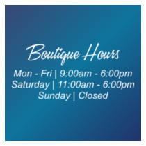 Business Hours Window Lettering 5