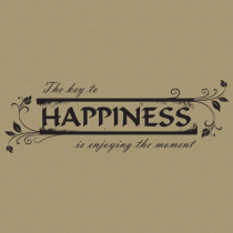 Happiness 263 Wall Lettering