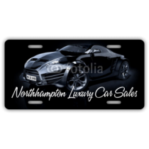Northampton Luxury Car Sales License Plate
