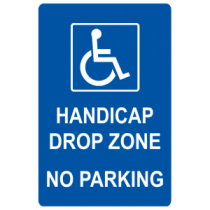 Drop Zone No Parking