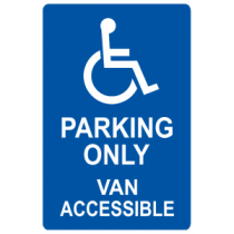 Parking Only - Van Accessible