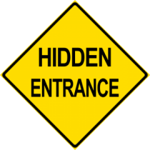 Hidden Entrance