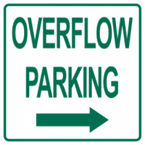 Overflow Parking Right