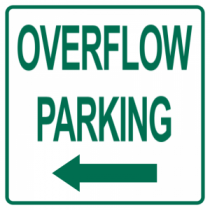 Overflow Parking Left