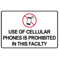 Cell Phones Prohibited