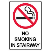 No Smoking In Stairway