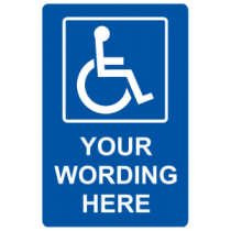 Handicap - Your Wording Here