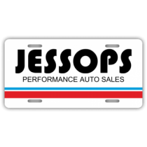 Jessops Performance Auto License Plate
