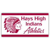 Hays High Indians Magnetic Sign - Magnetic Sign