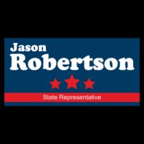 Jason Robertson State Rep Vinyl Banner