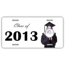 Class of 2013 Graduation License Plate