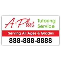 A Plus Tutoring Service Magnetic Sign - Magnetic Sign