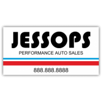 Jessops Performance Auto Magnetic Sign - Magnetic Sign