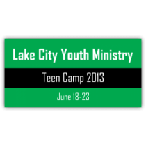 Lake City Youth Ministry Vinyl Banner