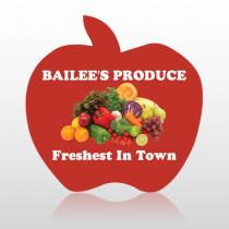 Produce 1032 Floor Decal Apple