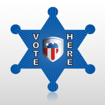 Vote 746 Floor Decal Badge