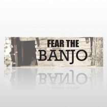 Banjo 160 Bumper Sticker