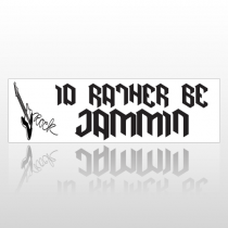Be Jammin 168 Bumper Sticker