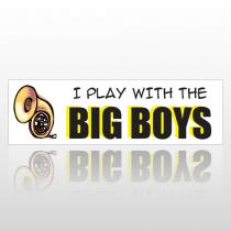 Big Boys 169 Bumper Sticker