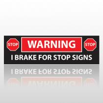 Brake 16 Bumper Sticker