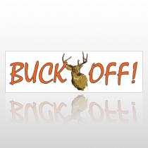 Buck Off 142 Bumper Sticker