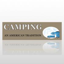 Camping 22 Bumper Sticker