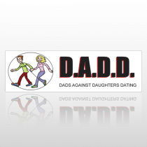 D.A.D.D. 101 Bumper Sticker