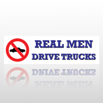 Drive Trucks 36 Bumper Sticker