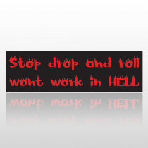 Droproll 216 Bumper Sticker