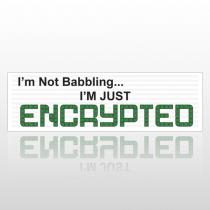 Encrypted 119 Bumper Sticker