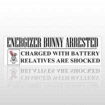 Energizer 256 Bumper Sticker