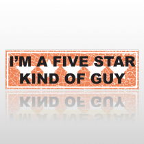 Five Star 77 Bumper Sticker