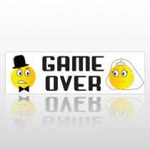Gameover 221 Bumper Sticker
