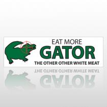 Gator Meat 247 Bumper Sticker