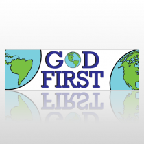 God First 217 Bumper Sticker