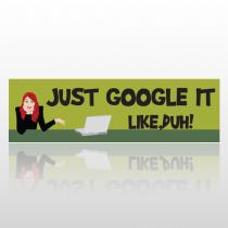 Google Duh 265 Bumper Sticker