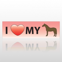 Hearthorse 41 Bumper Sticker