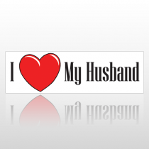 Heart Husband 96 Bumper Sticker
