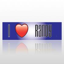 Heart Randy 25 Bumper Sticker