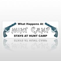 Hunt Camp 139 Bumper Sticker