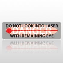 Laser 182 Bumper Sticker