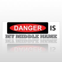Middle Name 181 Bumper Sticker
