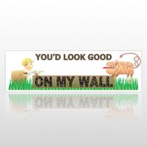 My Wall 250 Bumper Sticker