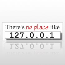 No Place 120 Bumper Sticker