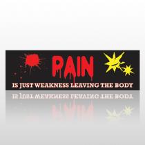 Pain Body 243 Bumper Sticker