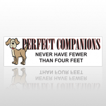 Perfect Dog 195 Bumper Sticker