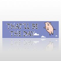 Pigs Fly 248 Bumper Sticker